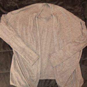 Athleta cape sweater